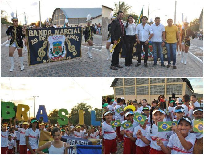 Desfile Cívico em alusão ao 7 de setembro foi realizado em Mato Grosso