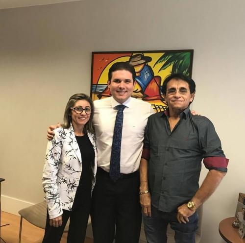 Hugo Motta e Doca se reúnem para tratar de recursos para Mato Grosso