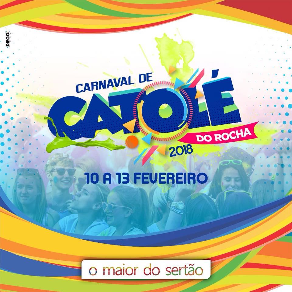 Atrações definidas no Carnaval 2018 de Catolé do Rocha; confira