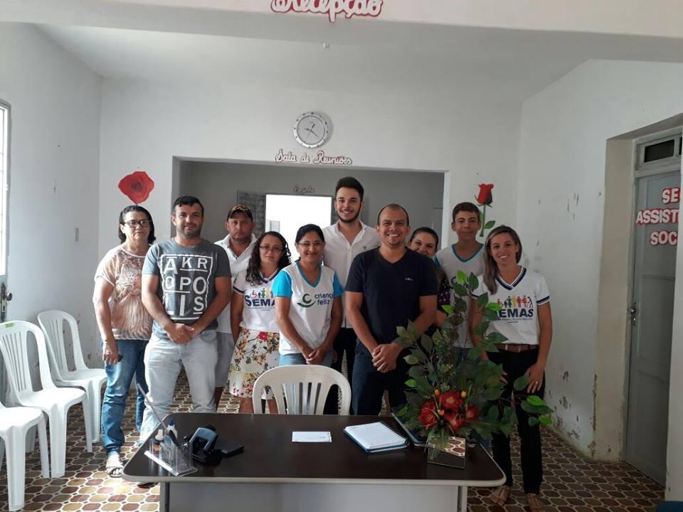 Secretário de Assistência Social de Lagoa faz reunião com equipe