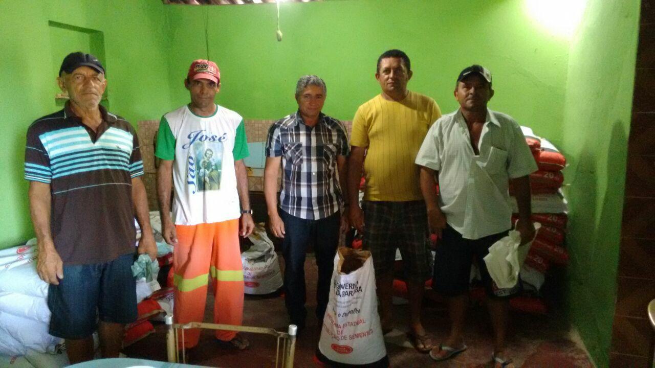 Emater distribui sementes para fortalecer a agricultura de Mato Grosso
