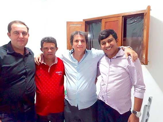 Janduhy Carneiro participou de evento em Lagoa no fim de semana
