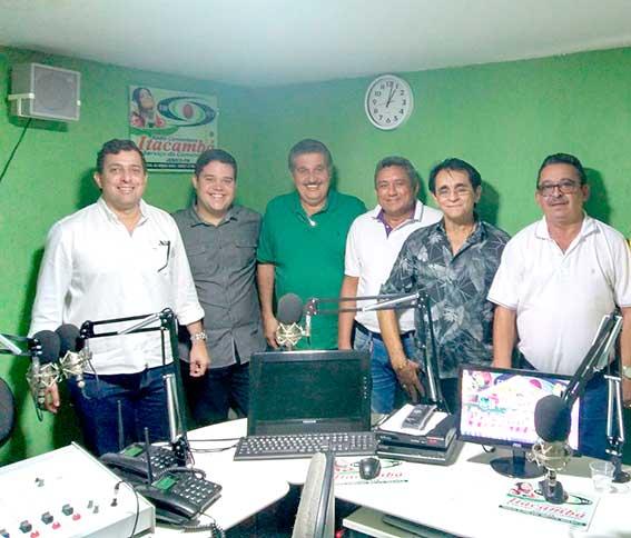 Anderson Monteiro e Gervásio Maia recebem apoio da oposição de Jericó