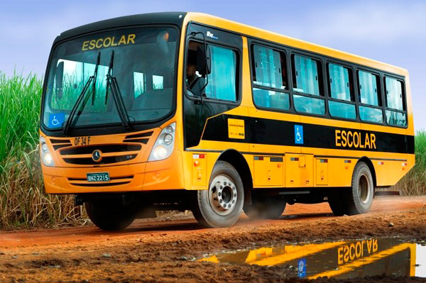 Vistoria do Detran reprova dois veículos escolares do município de Lagoa