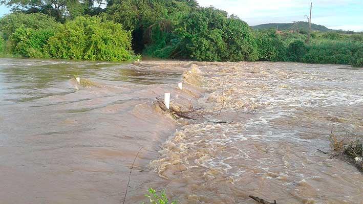 Municípios do Médio Piranhas registram fortes chuvas