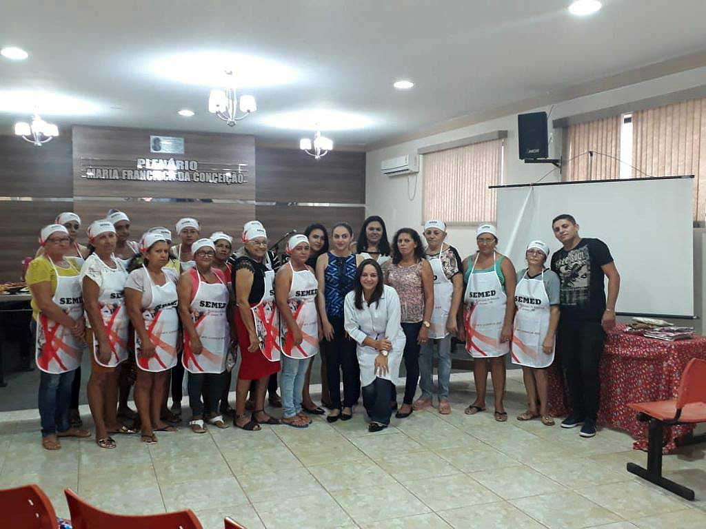 Prefeitura de Mato Grosso amplia capacitação para merendeiras de escolas do município