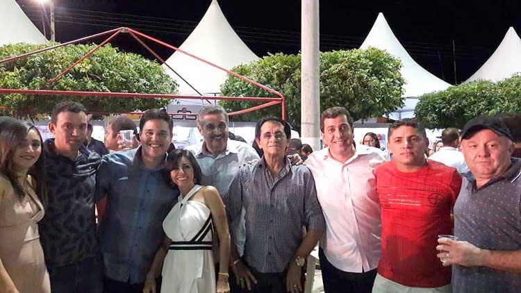 Gervásio Maia marca presença em Mato Grosso para prestigiar festa de João Pedro