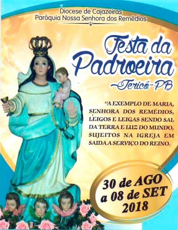 Padre José Maria convida fiéis para Festa da Padroeira de Jericó; ouça