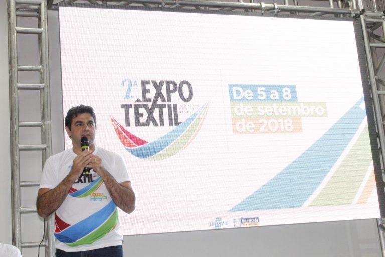 Prefeito de São Bento lança programação da Expo Têxtil 2018