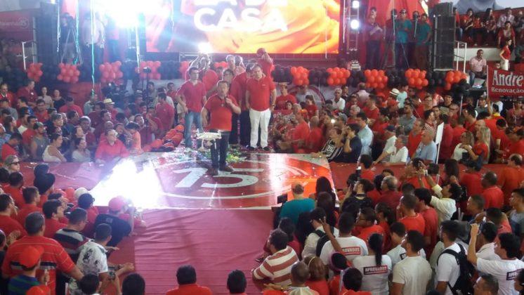 Zé Maranhão faz convenção com chapa incompleta