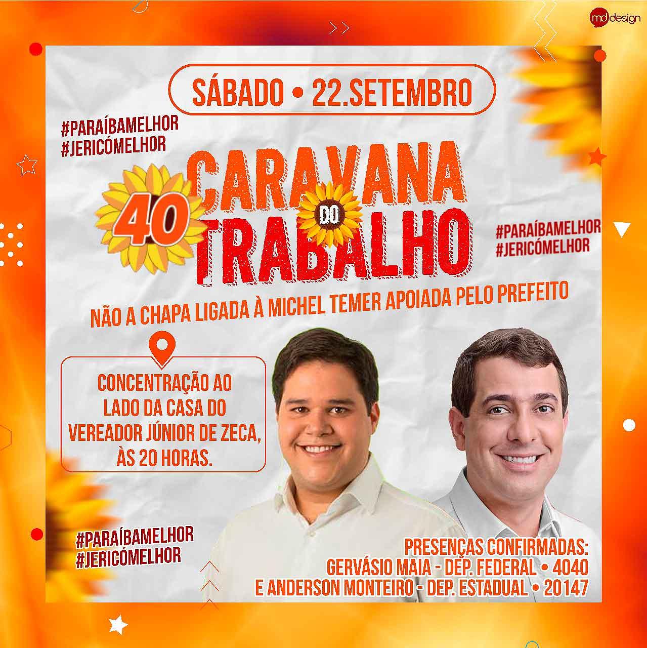 Caravana de Anderson Monteiro e Gervásio Maia em Jericó