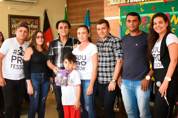 Alunos da rede municipal de Mato Grosso participam da final da terceira edição do projeto Soletrando