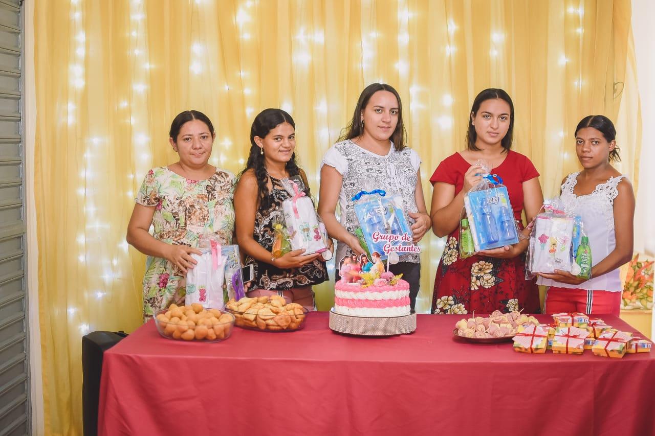 Secretaria de Assistência Social de Mato Grosso realiza confraternização com o grupo de gestantes