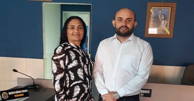 Rômulo Guedes toma posse como presidente da Câmara de Brejo dos Santos