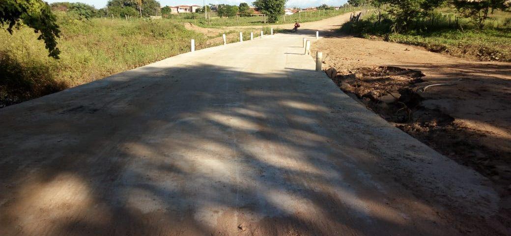 Prefeitura de Mato Grosso realiza recuperação em passagem molhada na comunidade Riachão dos Irias
