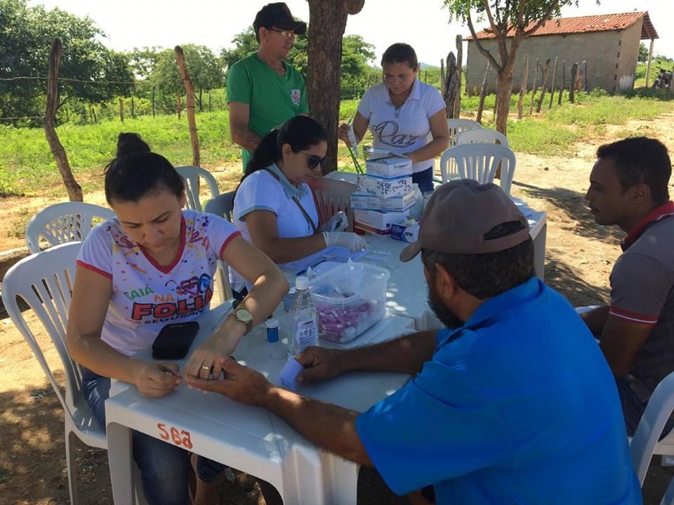 1ª Caravana da Saúde leva serviços à comunidade Castanho