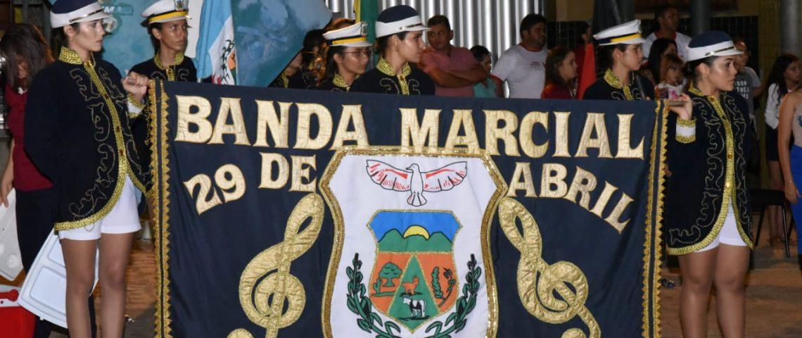 Prefeitura de Mato Grosso realiza encontro de Bandas e abre oficialmente Jogos Internos do município