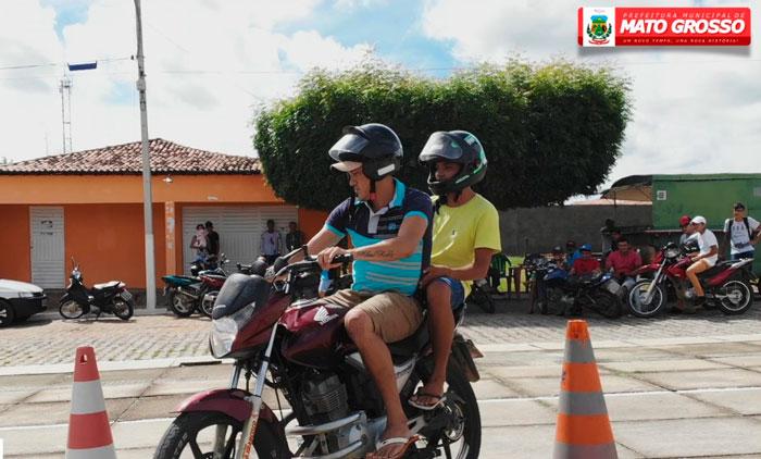 Prefeitura de Mato Grosso realiza Gincana Top Motos