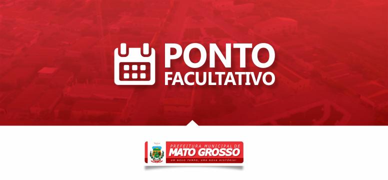 Prefeito de Mato Grosso decreta ponto facultativo nos dias 21 e 24 de junho