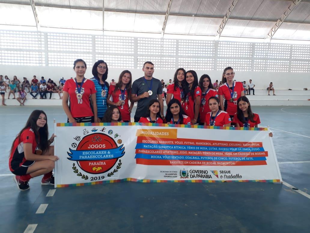 Equipe de Handebol de Mato Grosso é bicampeã nos Jogos Escolares da Paraíba e está classificada