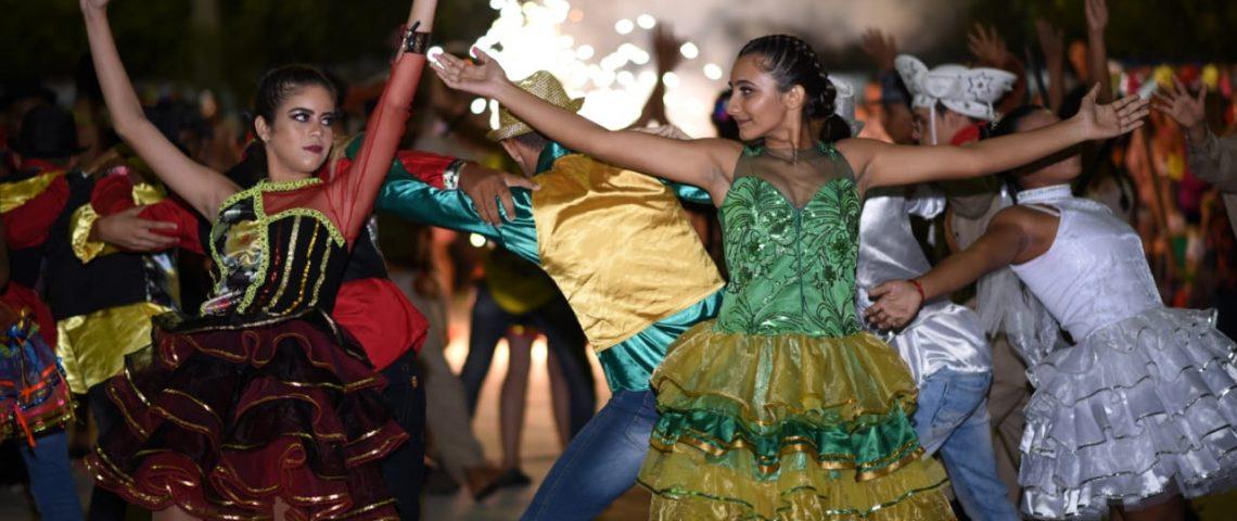 Criatividade e beleza no Arraiá da Educação deram tom à primeira noite do João Pedro em Mato Grosso