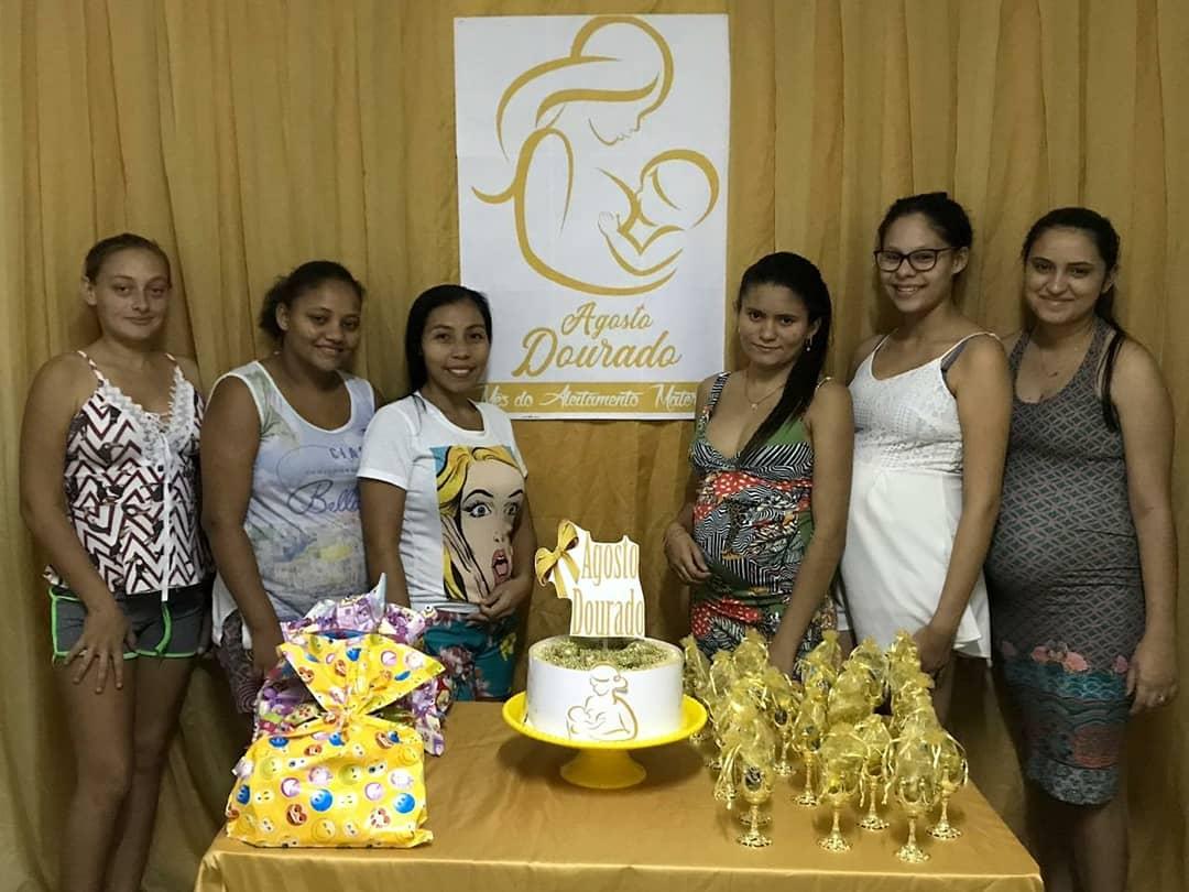 Prefeitura de Mato Grosso promove evento Agosto Dourado para incentivar amamentação