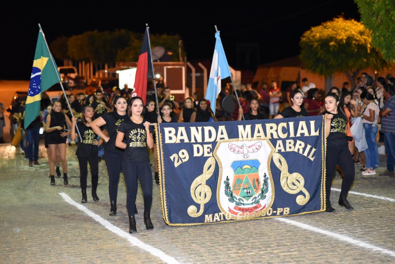Prefeitura de Mato Grosso realiza apresentação de Desfile Cívico