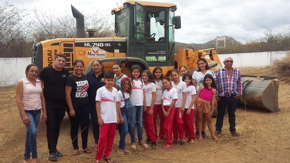 Escola Municipal de Mato Grosso recebe projeto de extensão da UEPB para construção de horta sustentável