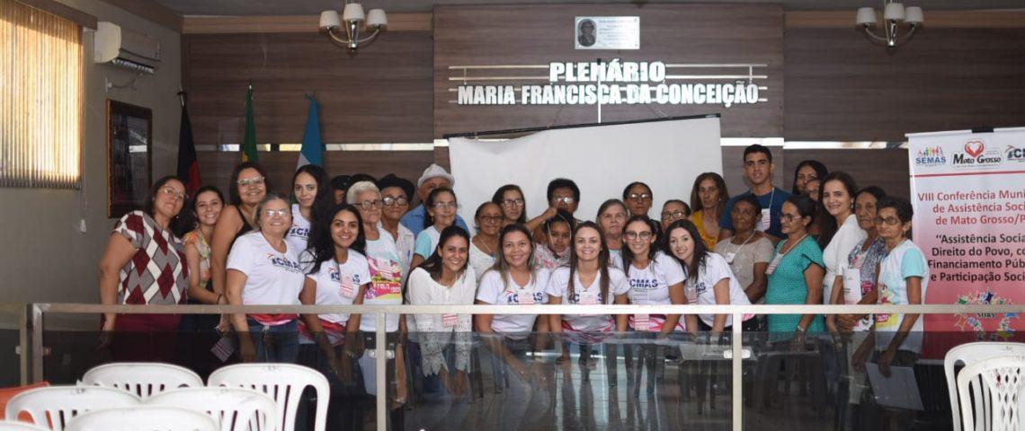 Conferência Municipal de Assistência Social debate propostas e melhorias para população de Mato Grosso