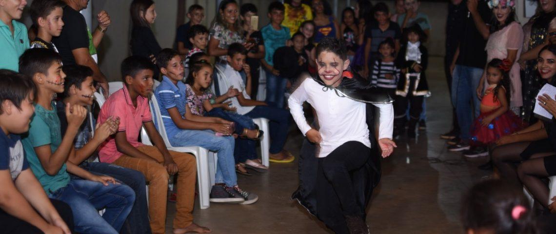 Secretaria de Assistência Social de Mato Grosso realiza evento com tema Halloween