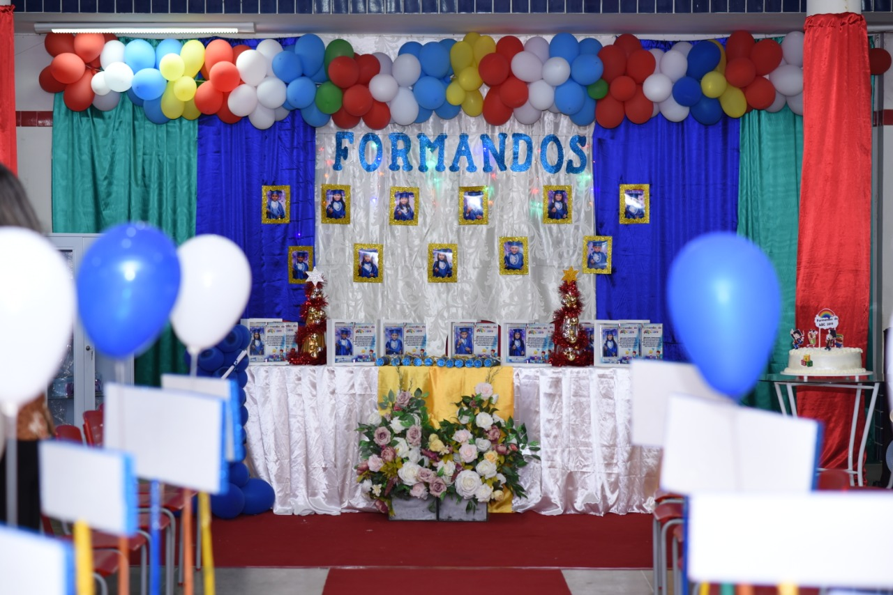 Alunos da Creche Municipal de Mato Grosso participam da solenidade de formatura do ABC 2019