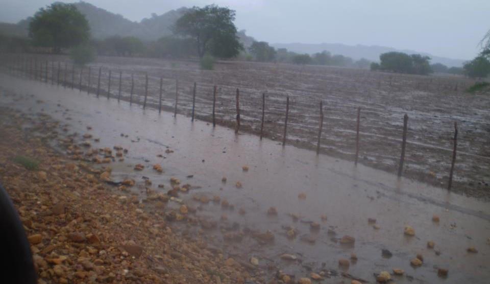 Aesa registra chuvas em seis municípios do Médio Piranhas