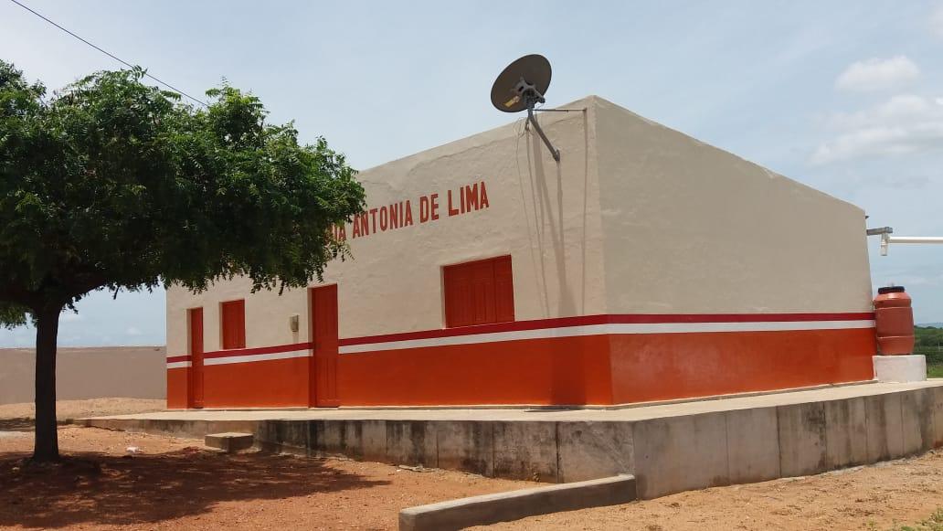 Prefeitura de Mato Grosso conclui reforma das escolas Maria Antônia de Lima e Miguel Filho da Silva