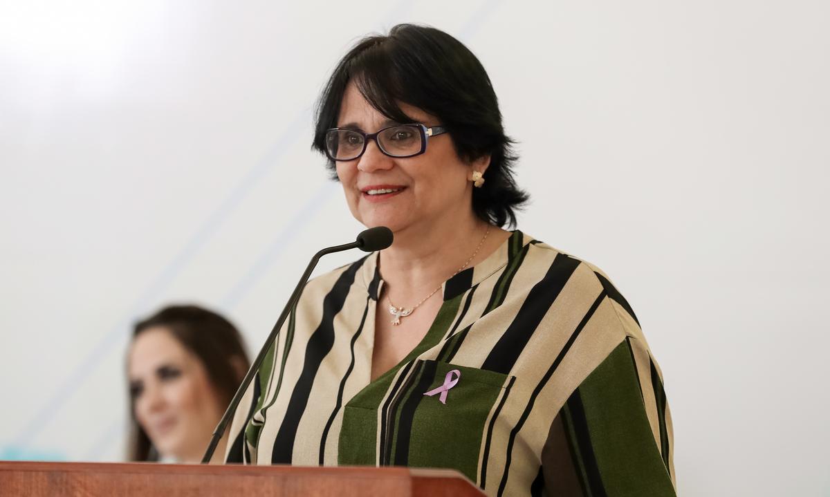 Ministra Damares anuncia kits para conselhos tutelares em Jericó, Mato Grosso e São Bento