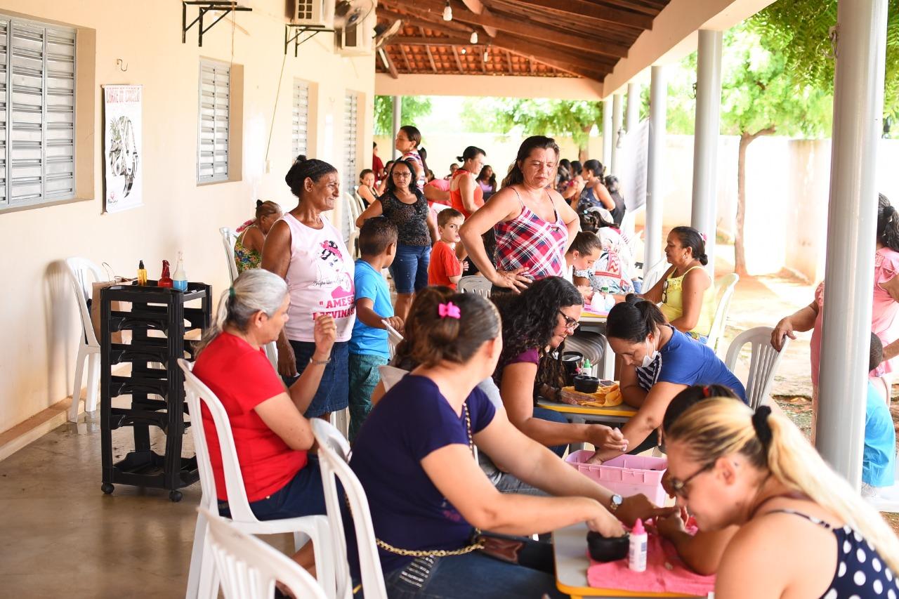 Secretaria de Assistência Social de Mato Grosso promove atividades em alusão ao Dia Internacional da Mulher