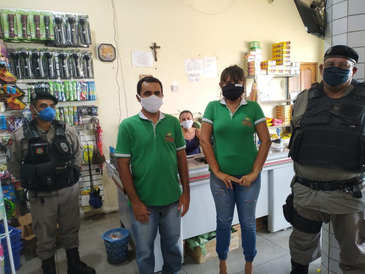 Secretaria de Saúde de Mato Grosso realiza Movimento Sanitário com apoio da Polícia Militar
