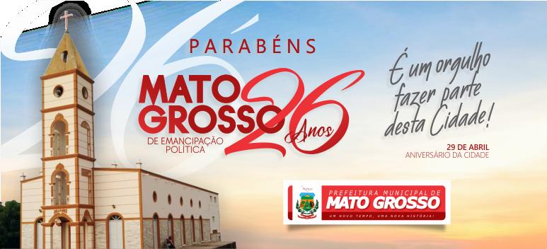 Mato Grosso completa 26 anos de emancipação política nesta quarta-feira