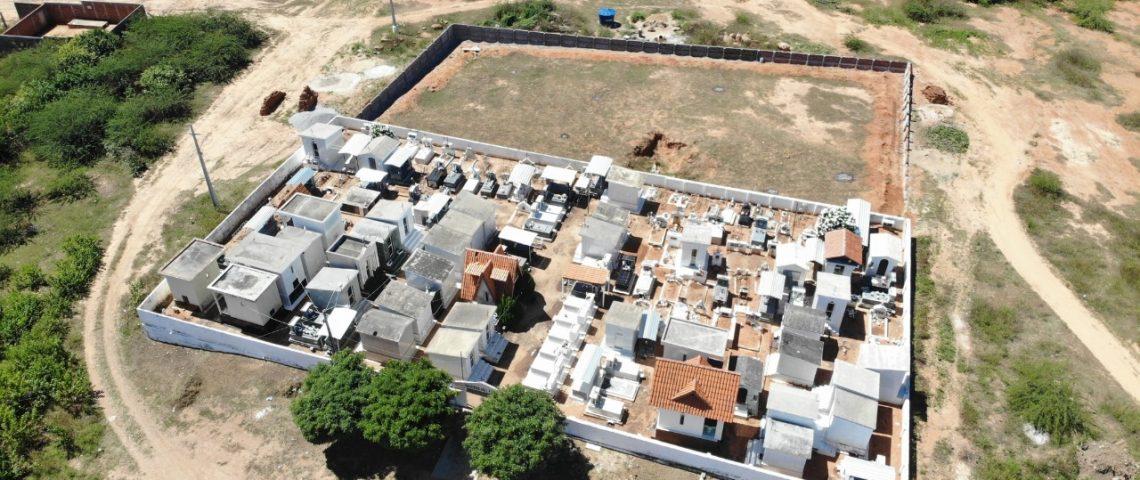 Prefeitura de Mato Grosso inicia obra de ampliação do Cemitério Público São Lázaro