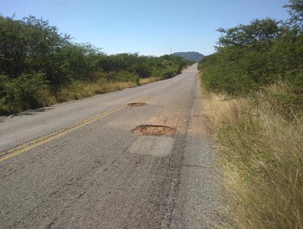 Frei Anastácio faz apelo para que Governo do Estado recupere rodovias de Brejo do Cruz, Catolé e São Bento