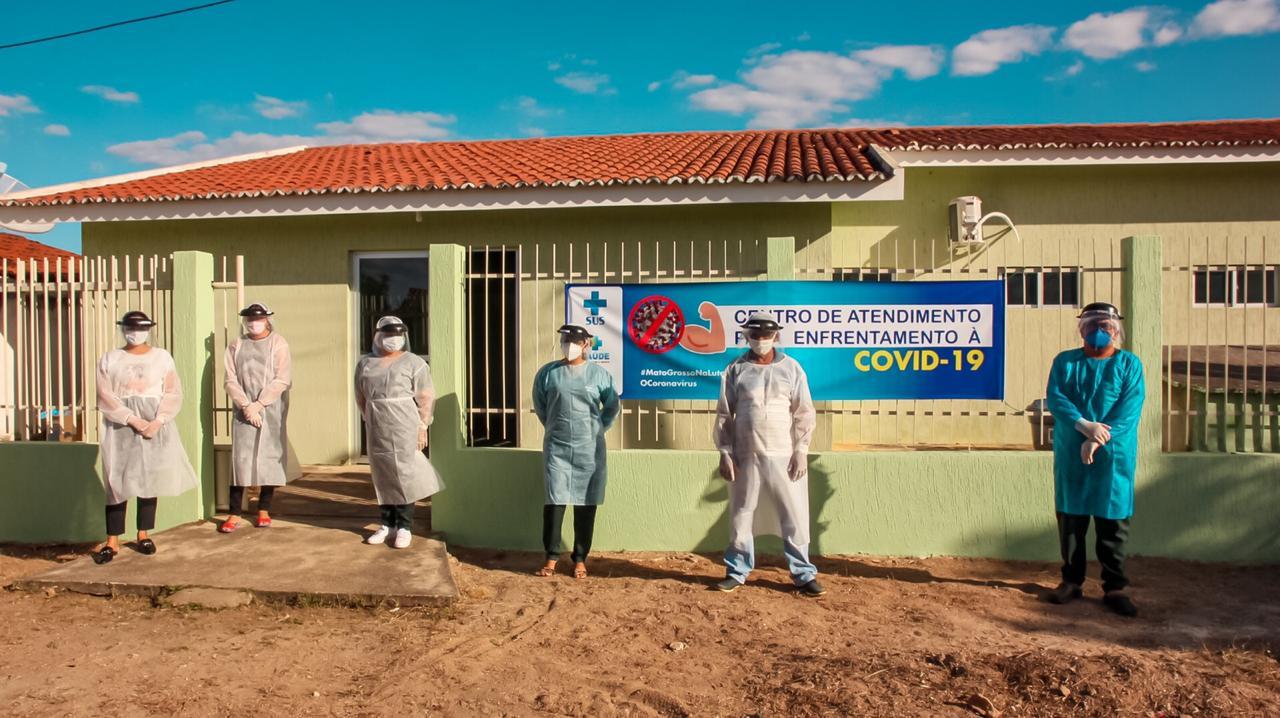 Prefeitura de Mato Grosso inaugura Centro de Enfrentamento à Covid-19