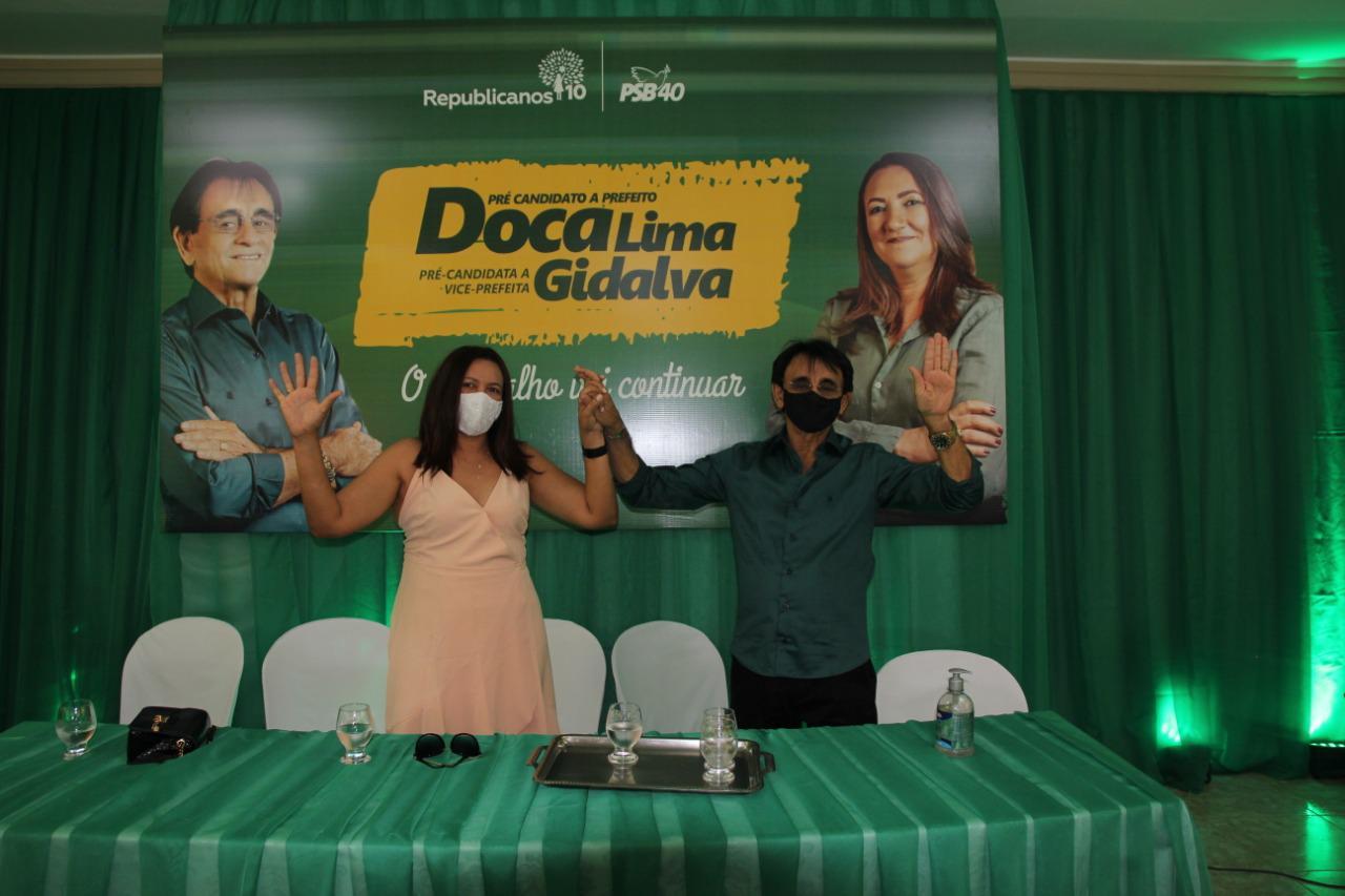 Doca Lima e Gidalva têm candidatura homologada para disputar reeleição em Mato Grosso