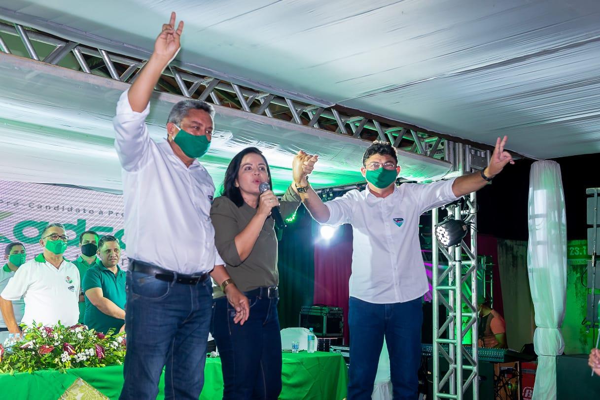 Cidadania oficializa Kadson Monteiro e Neto Alves para disputar Prefeitura de Jericó