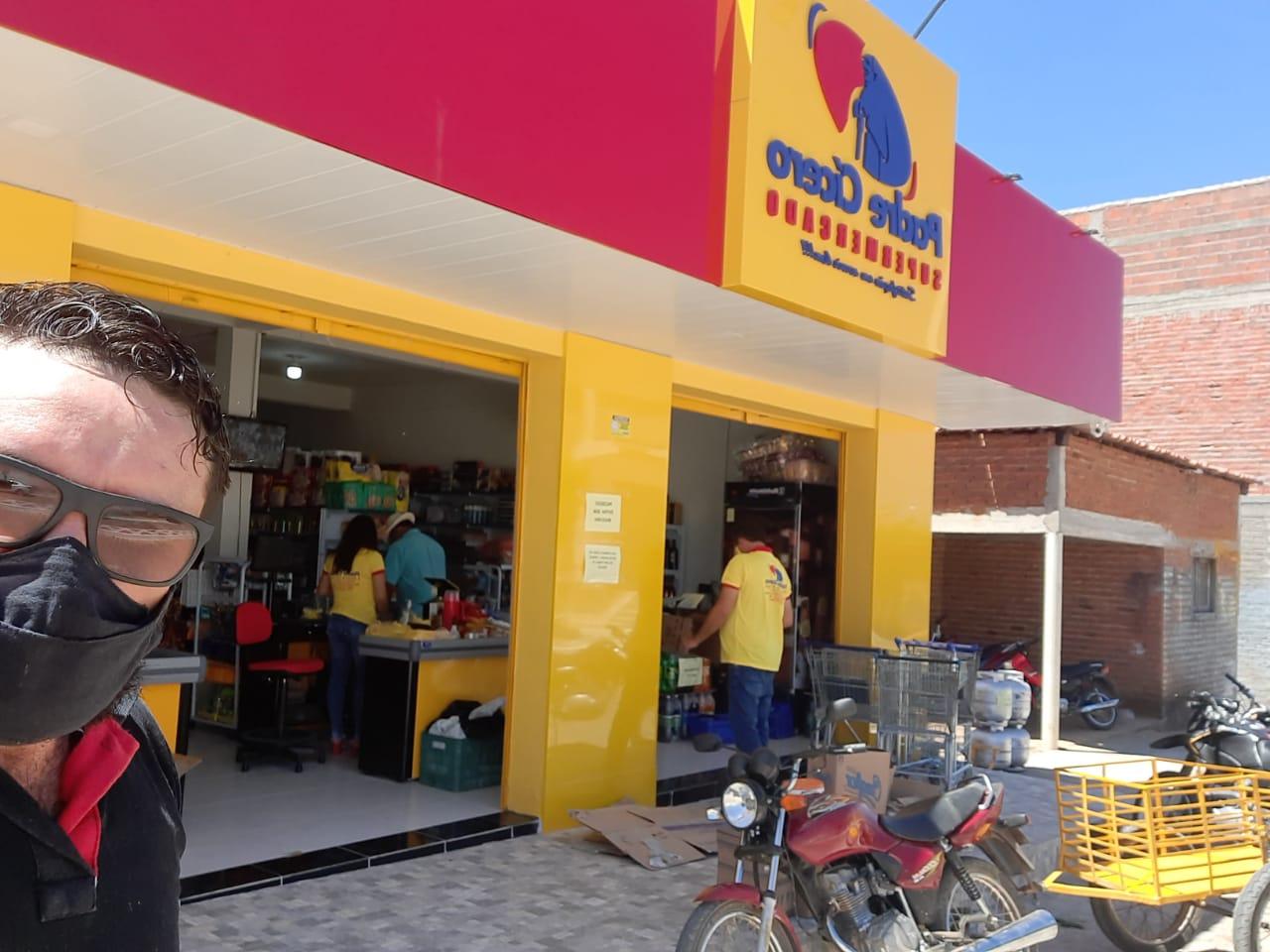 Inauguração do Padre Cícero Supermercado em Mato Grosso