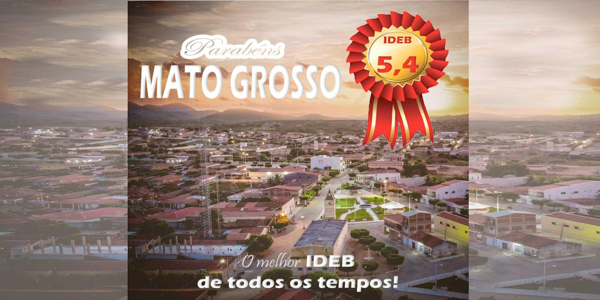 Educação do município de Mato Grosso atinge metas do IDEB em 2019