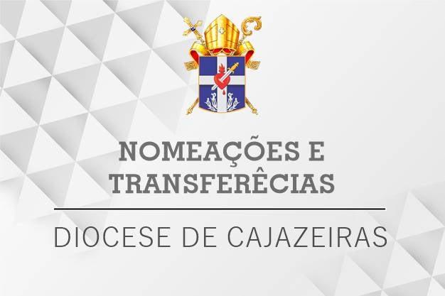 Bispo anuncia nomeações de novos padres para Jericó, Lagoa e Mato Grosso
