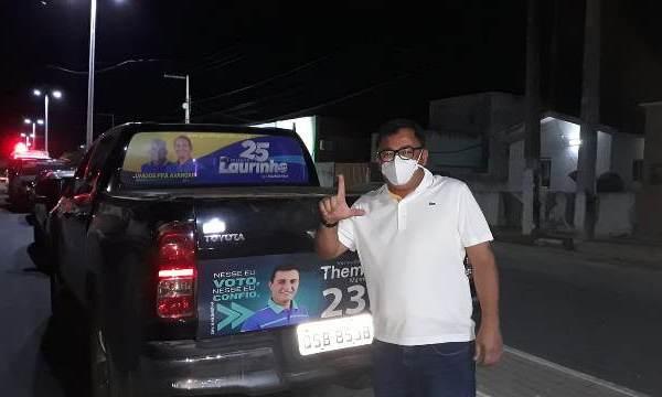 Laurinho conseguiu ter o voto de Leomar e Paulinho nas eleições de Catolé
