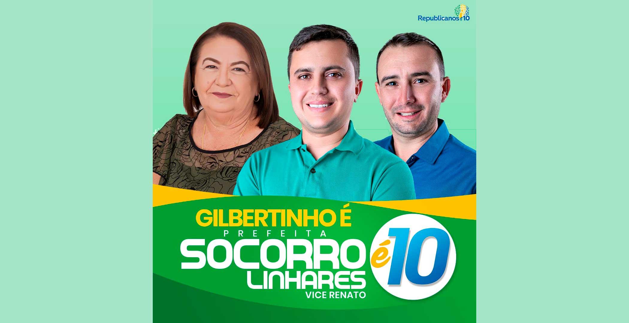 Gilbertinho renuncia candidatura em Lagoa e anuncia sua tia como nova substituta