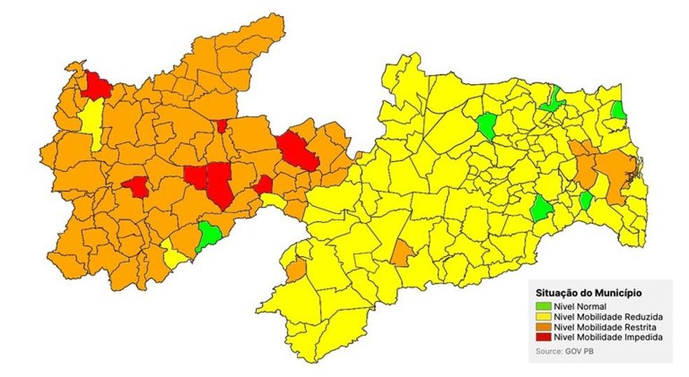 Cidades do Médio Piranhas estão com bandeira laranja da Covid-19