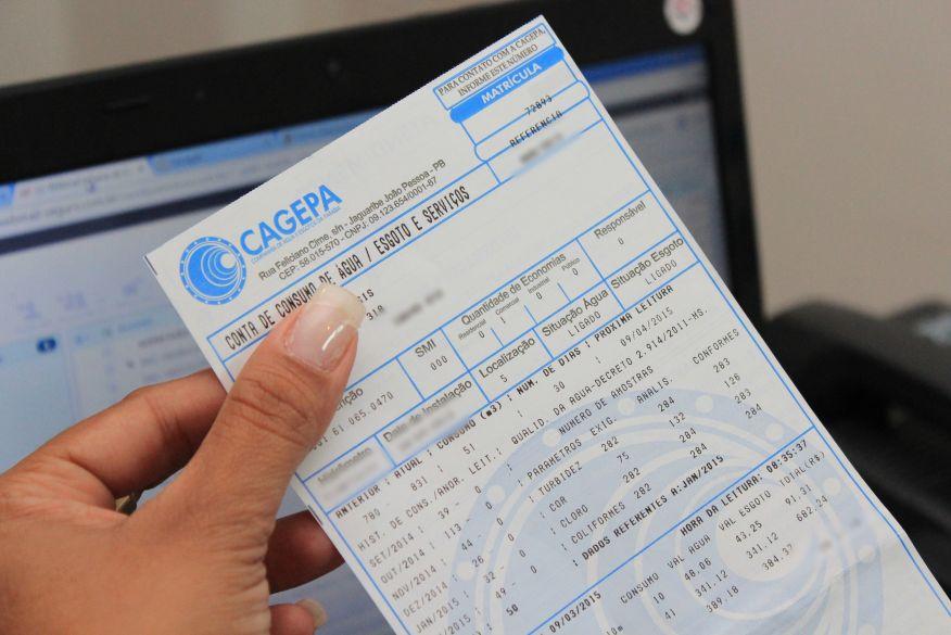 Cagepa lança campanha de negociação de débitos com até 100% de desconto