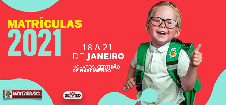 Secretaria de Educação de Mato Grosso inicia matrículas nas escolas municipais